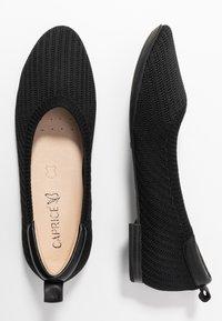 Caprice - Bailarinas - black - 3