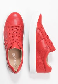 Caprice - Sneakers laag - red - 3