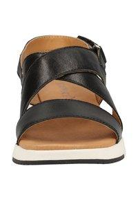 Caprice - Sandales de randonnée - black metallic - 5