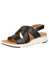 Caprice - Sandales de randonnée - black metallic - 2