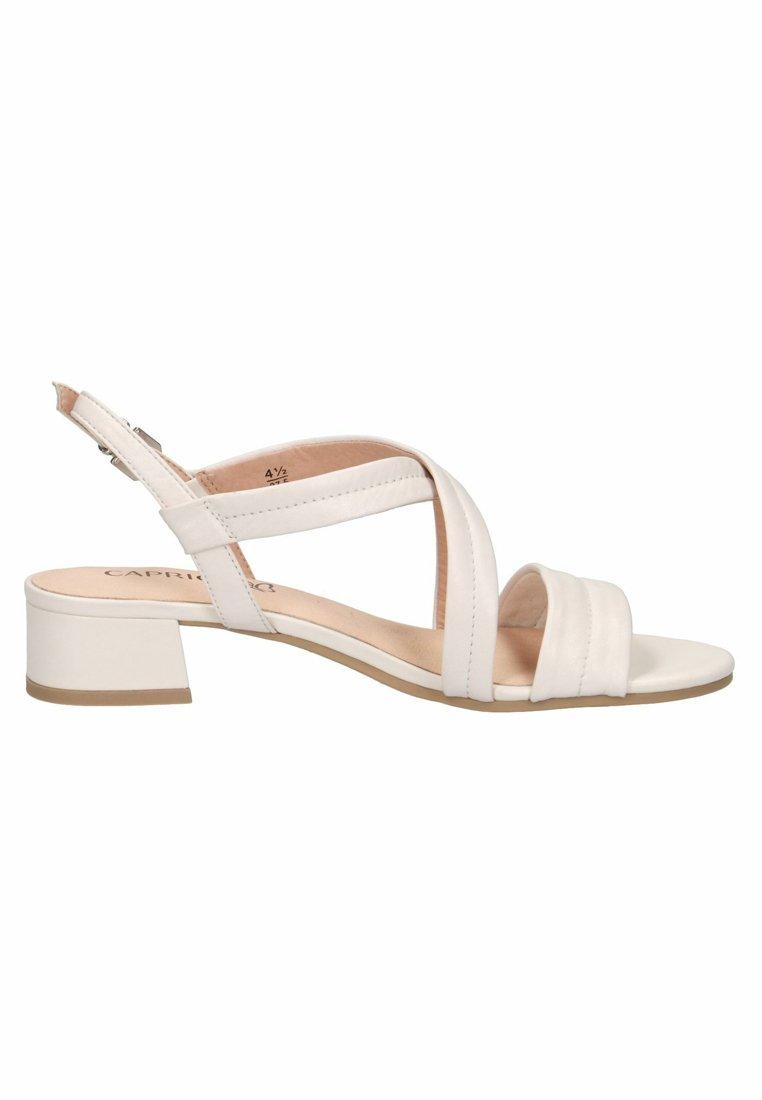 Caprice Sandaler - White
