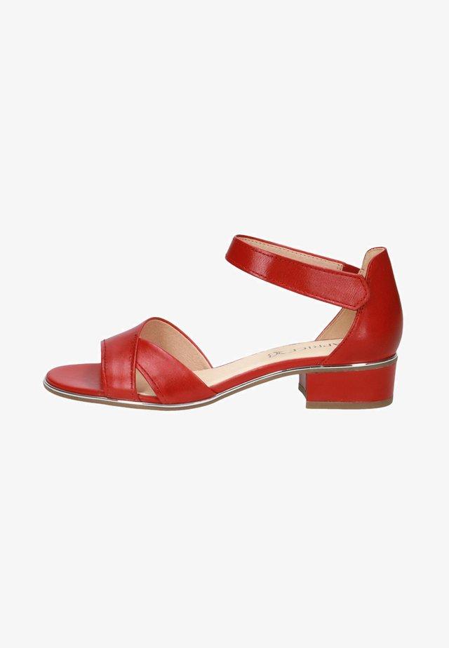 Sandalen - red nappa