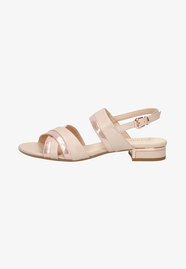 Sandaler - beige/rose gold