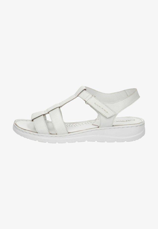 Sandals - white nappa