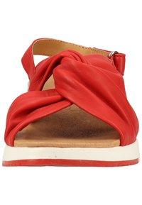 Caprice - Sandals - red softnappa 525 - 5