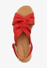 Caprice - Sandals - red softnappa 525 - 1