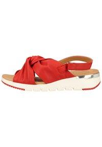 Caprice - Sandals - red softnappa 525 - 0