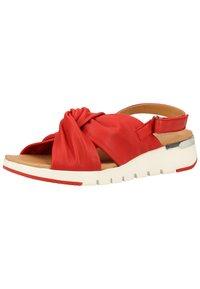 Caprice - Sandals - red softnappa 525 - 3
