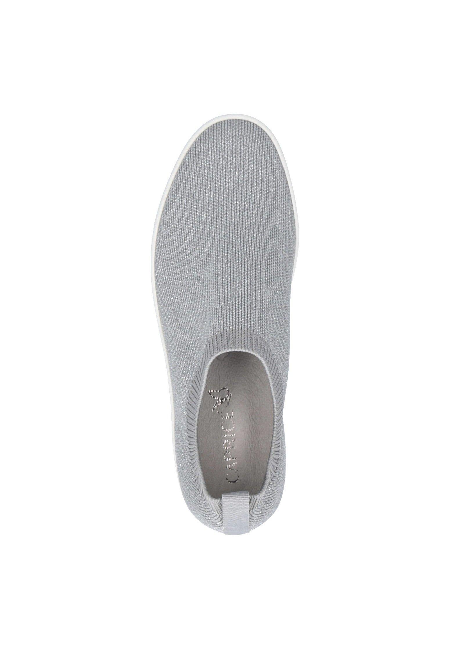 Caprice Sneakers lt grey knit Zalando.se
