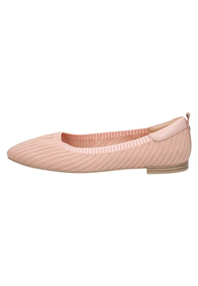 Bailarinas - rose knit