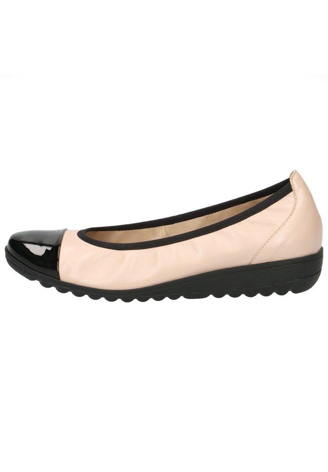 Ballerinat - beige/black