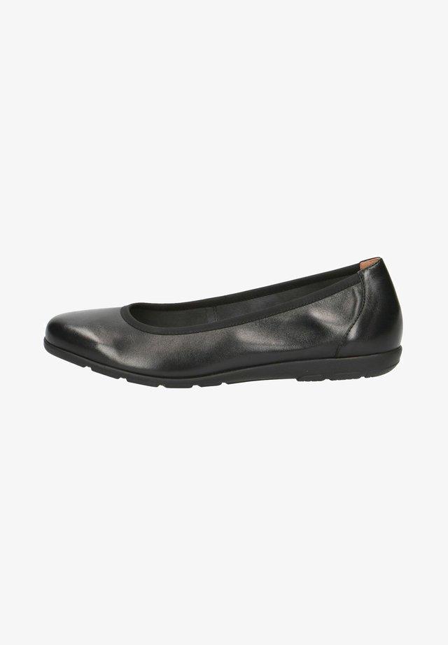 BALLERINA - Ballerinaskor - black nappa