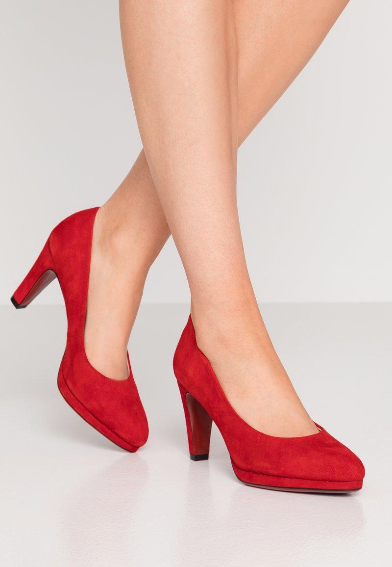 Caprice - High Heel Pumps - red