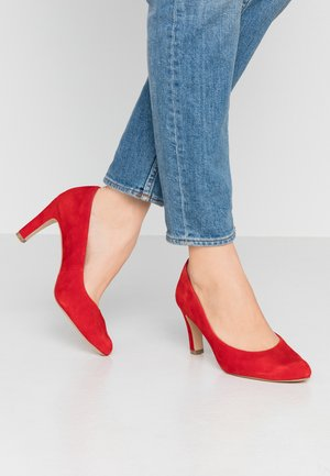 Klassiske pumps - red