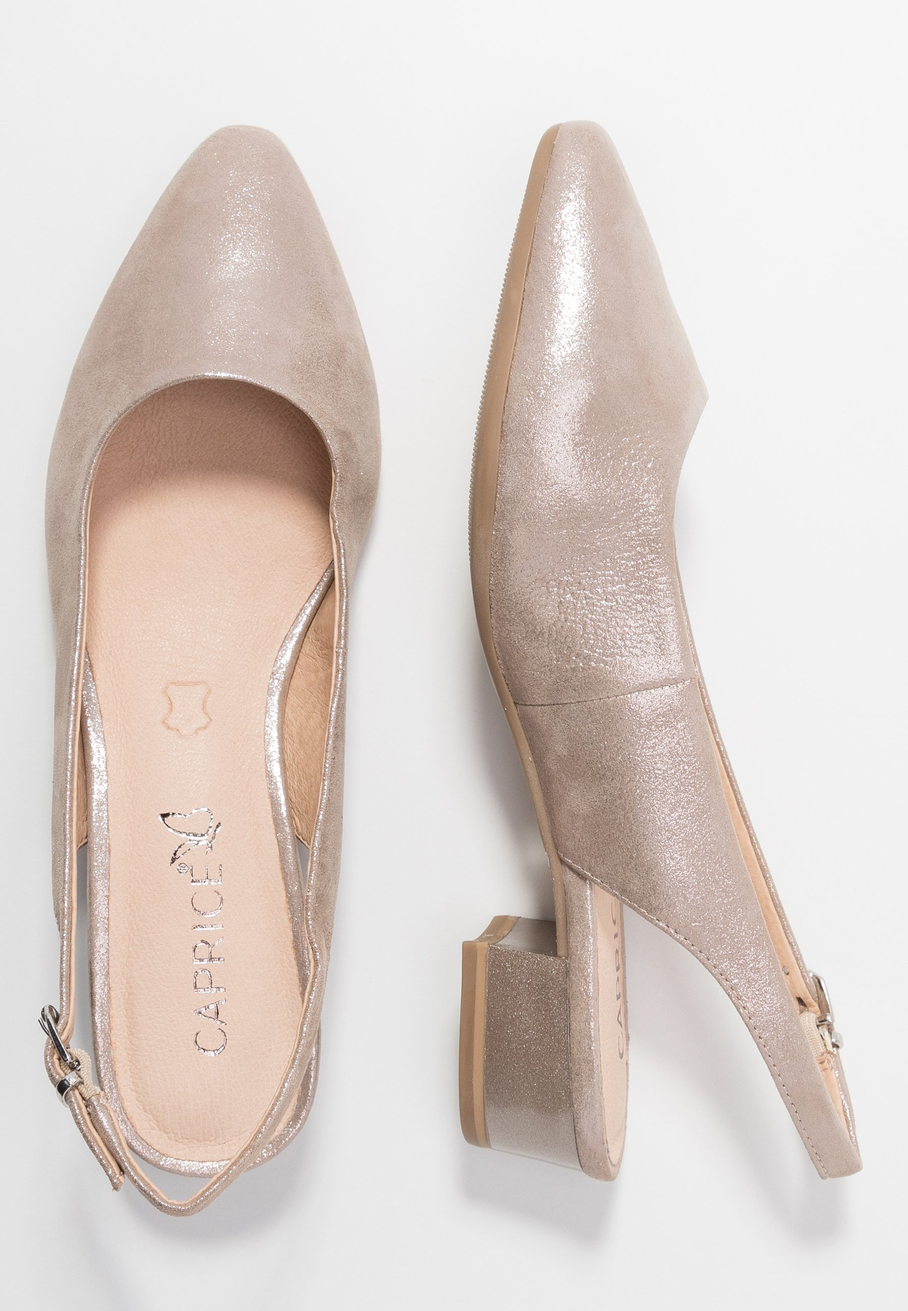 Caprice Pumps - Taupe