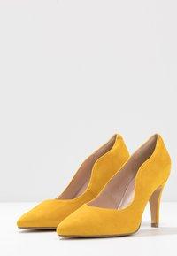 Caprice - Høye hæler - yellow - 4
