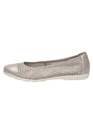 Ballet pumps - silver sue.met