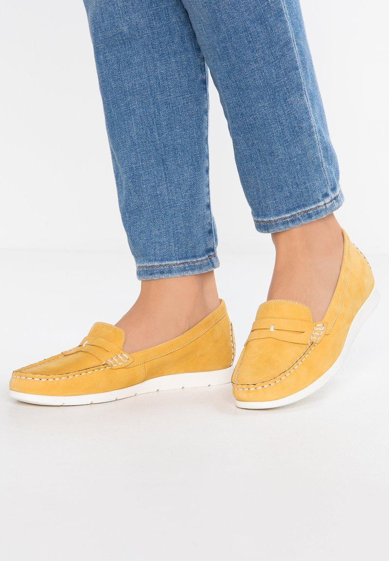 Caprice - Slip-ons - yellow