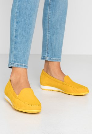 Loaferit/pistokkaat - yellow