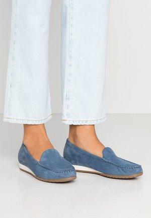 Mocassins - blue