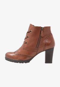 Caprice - Ankle boots - cognac - 1