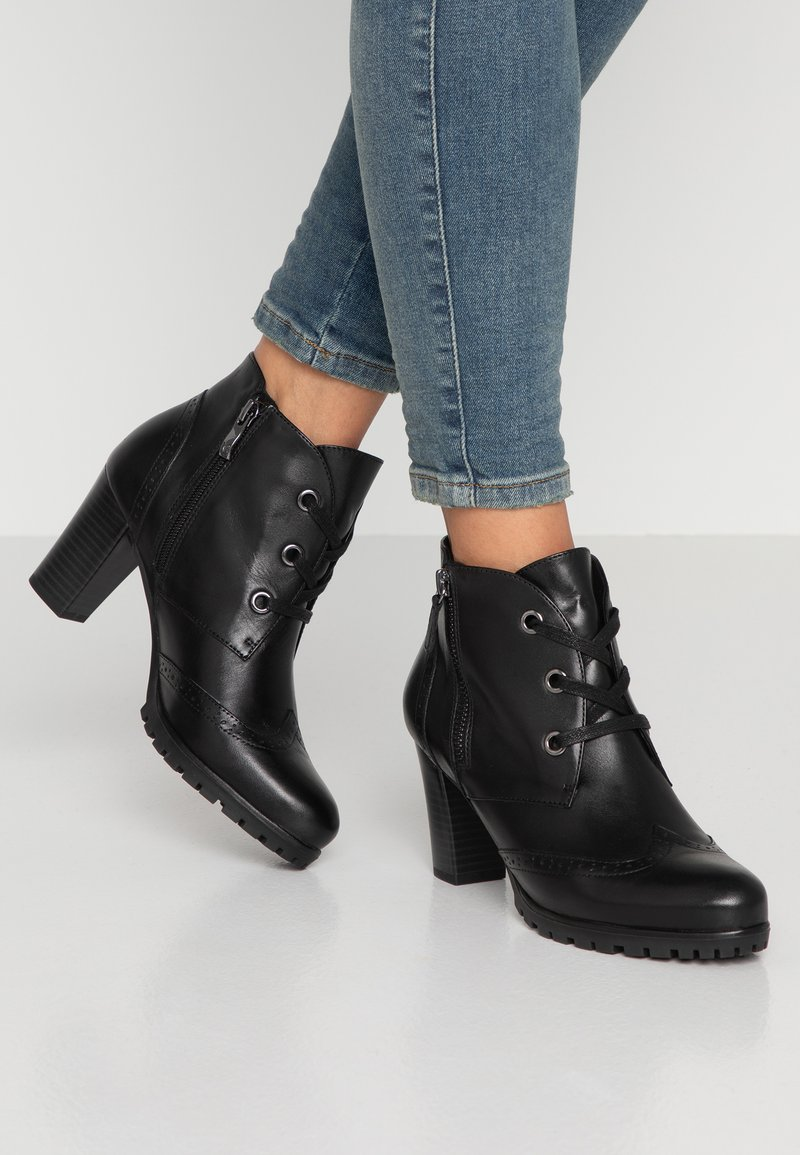 Caprice - Boots à talons - black