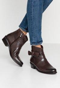 Caprice - Ankelboots - dark brown - 0