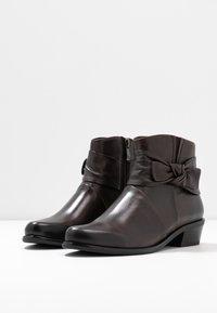 Caprice - Ankelboots - dark brown - 4