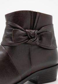 Caprice - Ankelboots - dark brown - 2