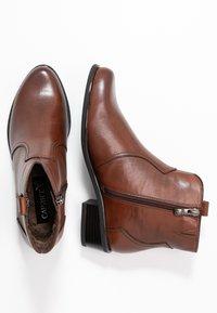Caprice - Cowboystøvletter - cognac - 3