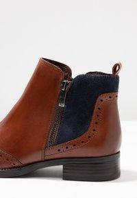 Caprice - Ankelboots - cognac/ocean - 2