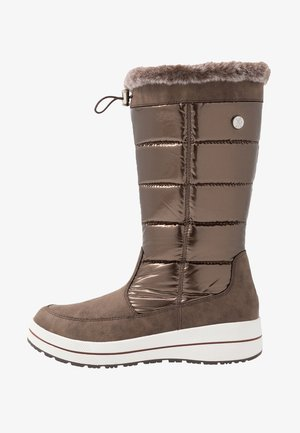Winter boots - bronce