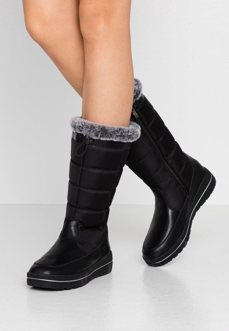 Caprice - Stivali da neve  - black