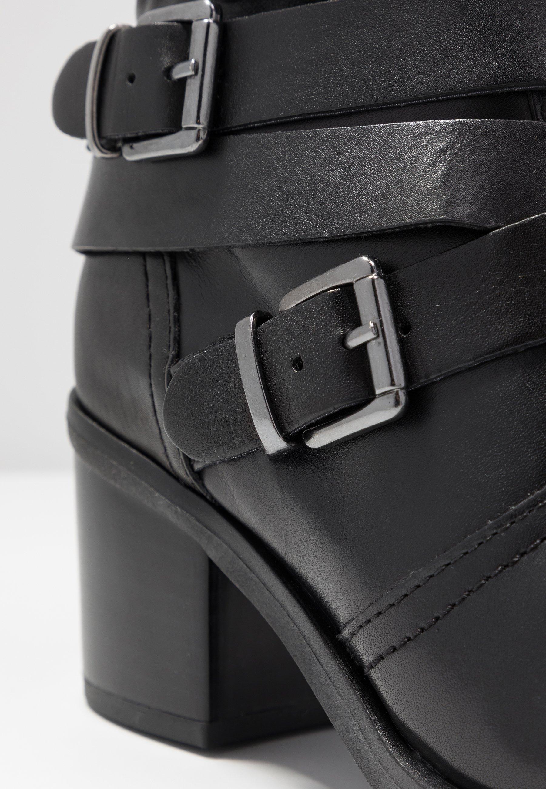 Caprice Cowboystøvletter - Black