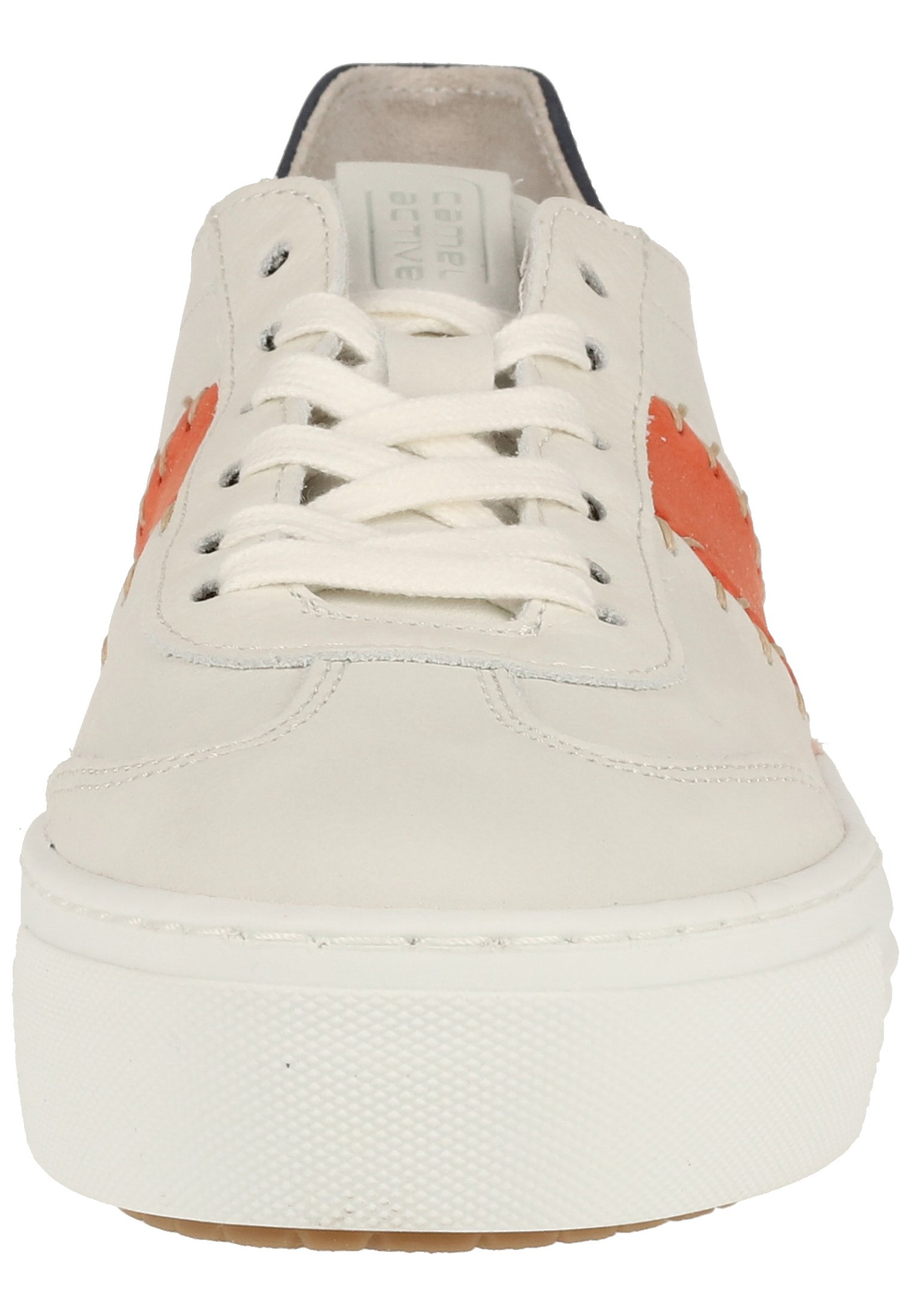 camel active CAMEL ACTIVE SNEAKER - Sneakers - white/coral/jeans 01