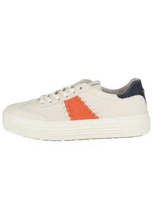 CAMEL ACTIVE SNEAKER - Sneakers - white/coral/jeans 01