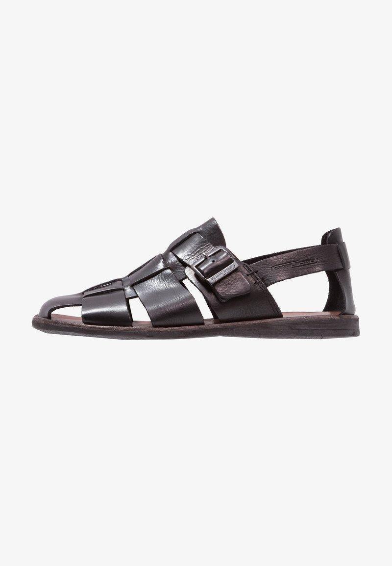 camel active - Sandals - black