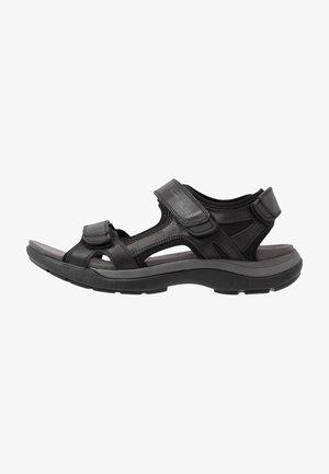 EXPLORER - Chodecké sandály - black