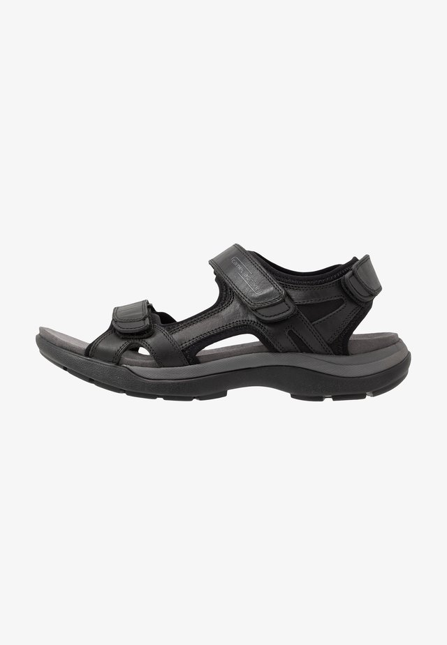 EXPLORER - Walking sandals - black