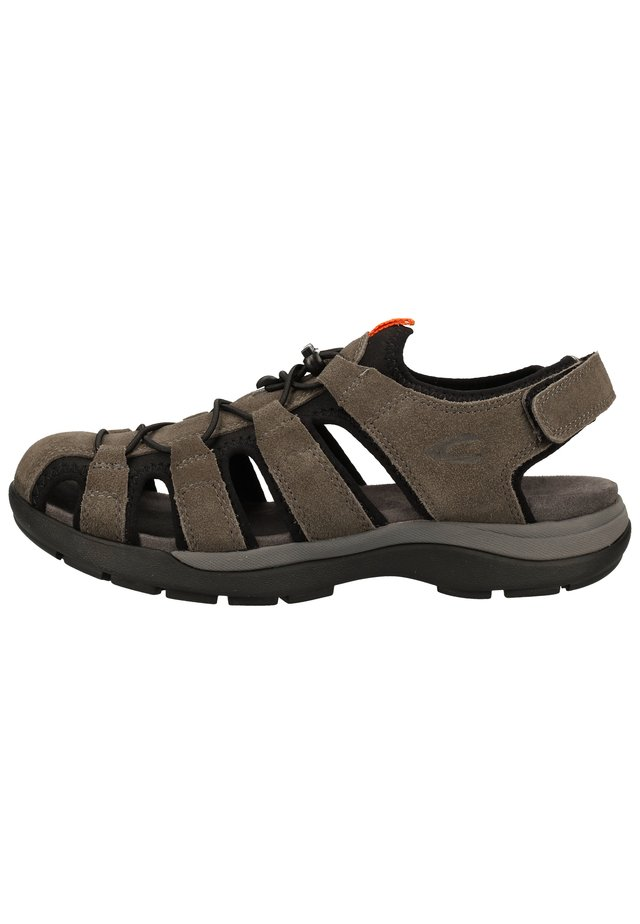 CAMEL ACTIVE SANDALEN - Walking sandals - dk.grey/black 01