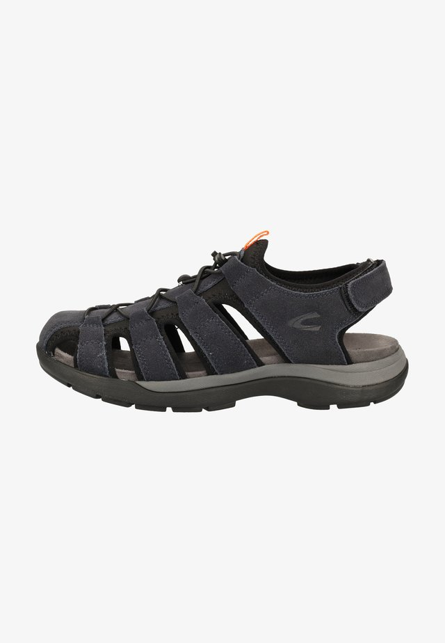 CAMEL ACTIVE SANDALEN - Walking sandals - mid night/black