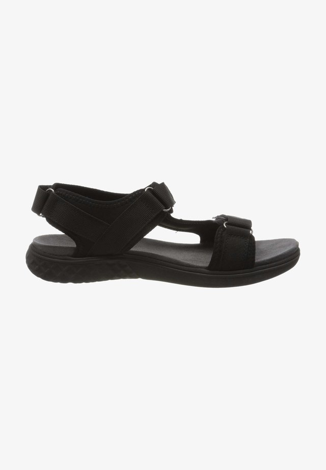 Walking sandals - schwarz