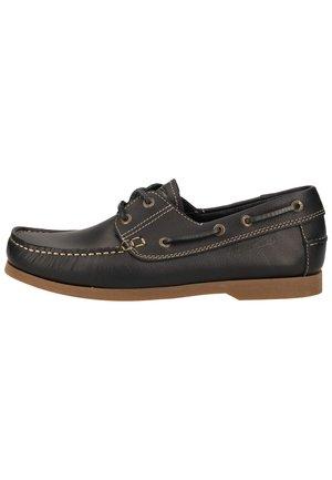 CAMEL ACTIVE HERREN SCHNÜRER - Boat shoes - midnight 28