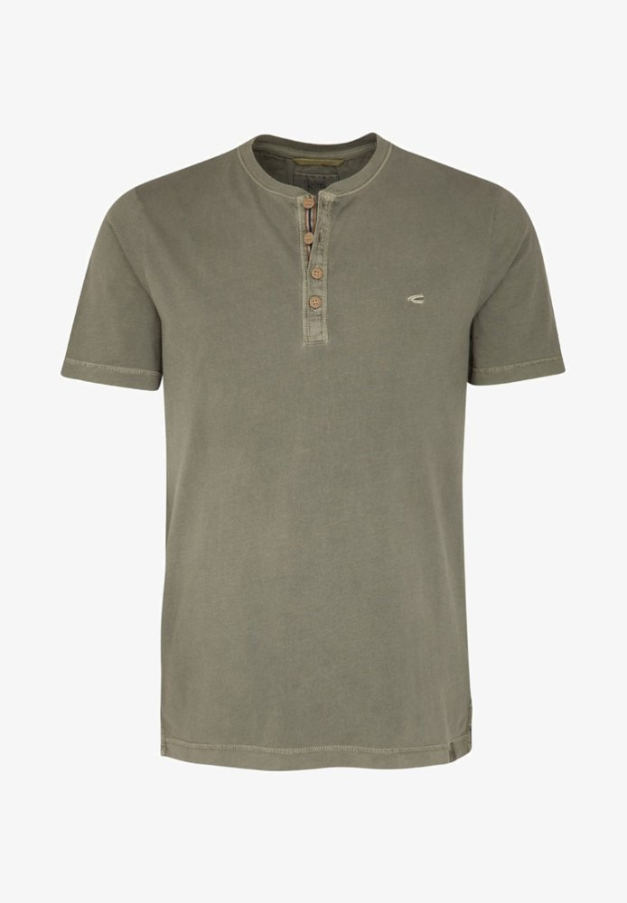 camel active - T-Shirt basic - olive los