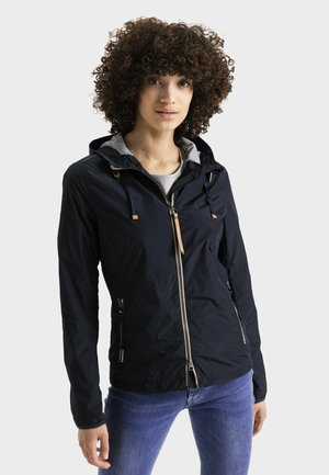 MIT KAPUZE - Summer jacket - navy