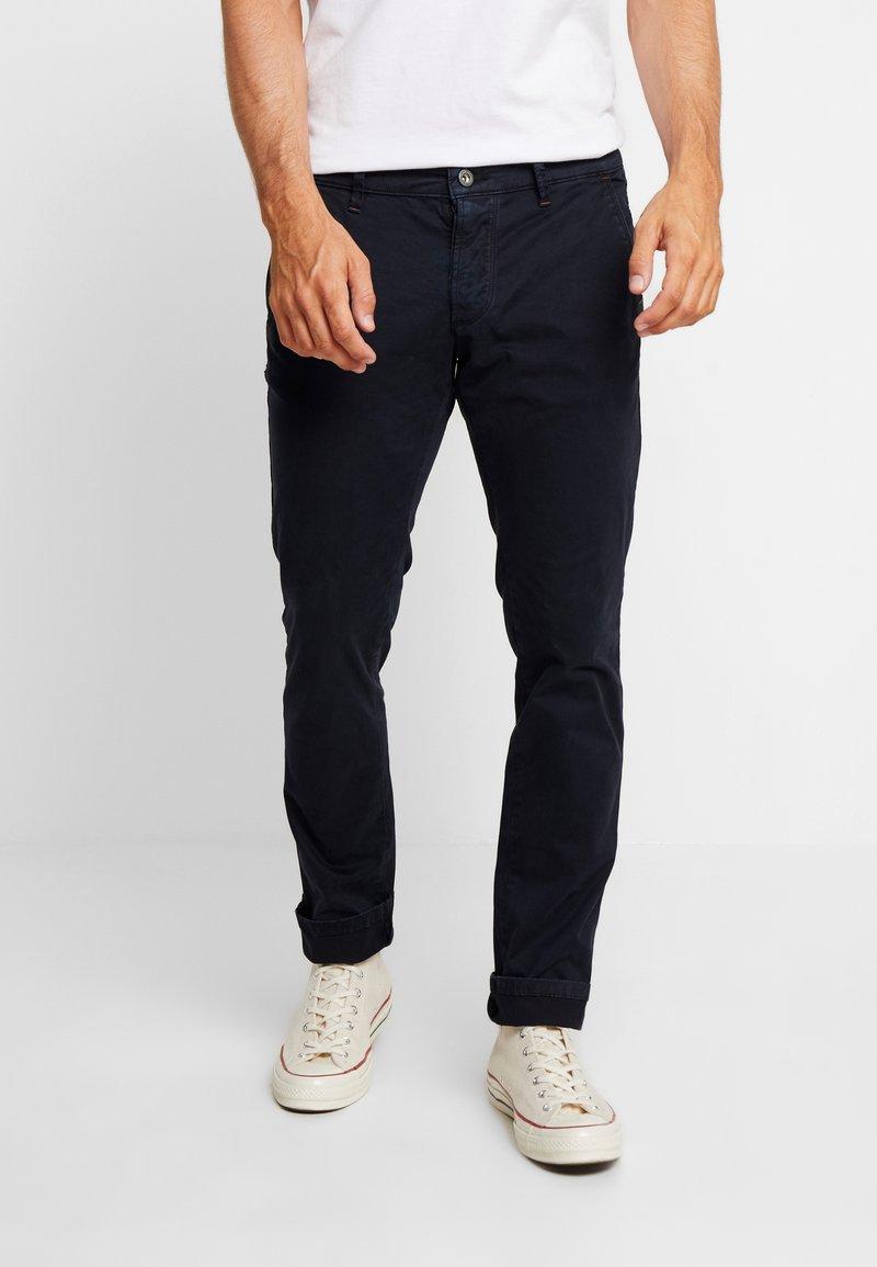 camel active - Chino kalhoty - dark blue