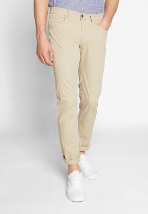 HOUSTON - Kalhoty - beige
