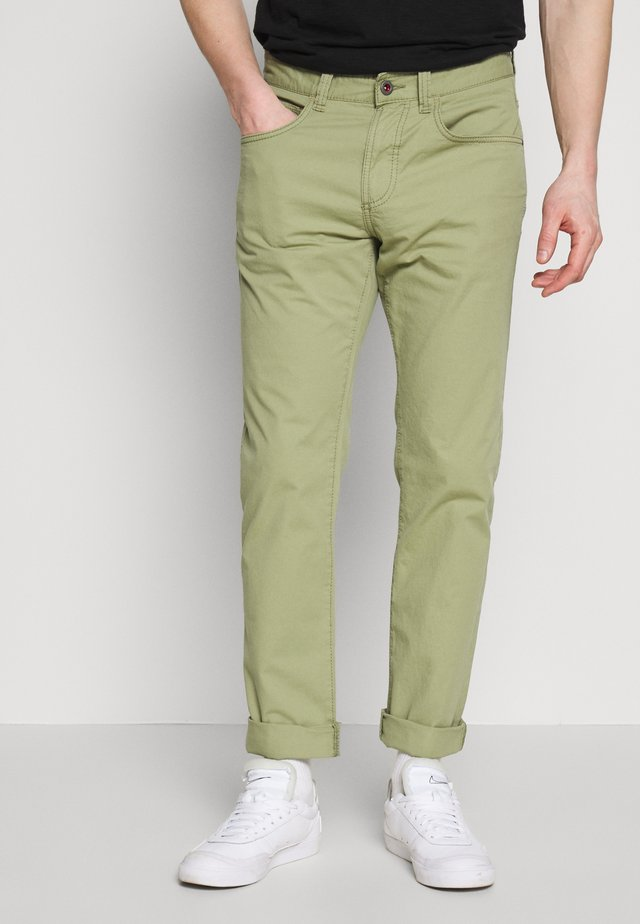 HOUSTON - Broek - olive