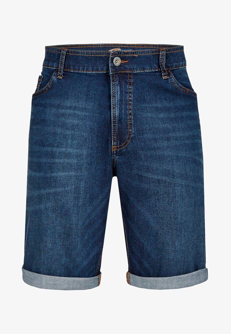 camel active - Denim shorts - dark-blue denim