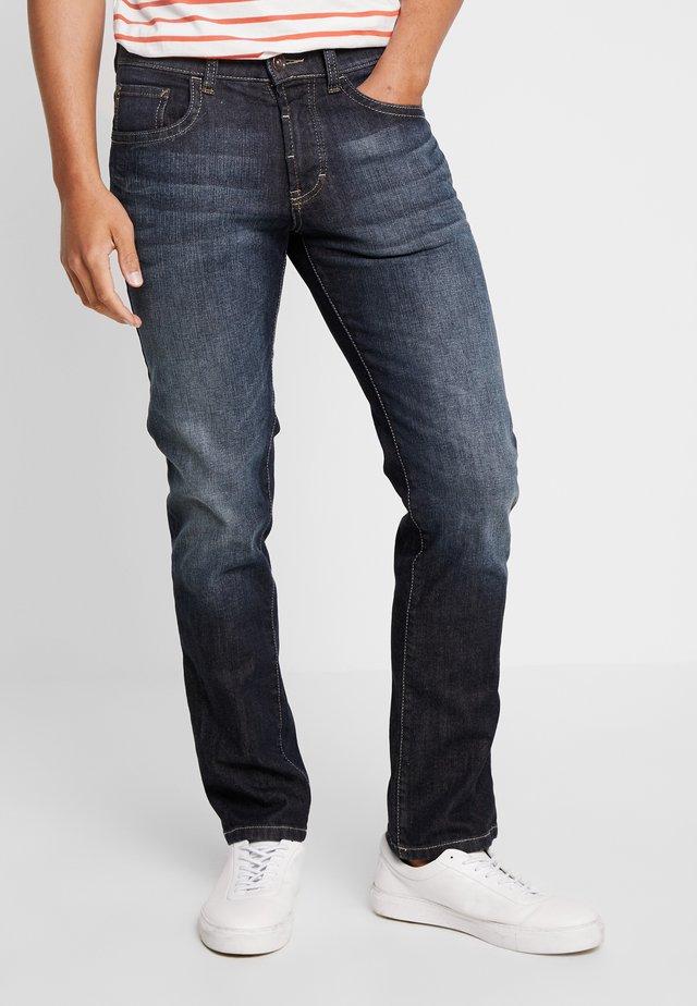 WOODSTOCK - Straight leg jeans - stoned blue